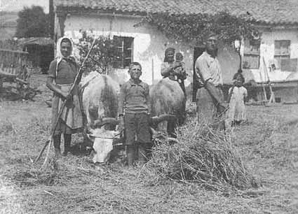 Αγρότες του Φιλώτα Φλώρινας το μεσοπόλεμο