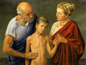 Hippocrates_examining_a_child