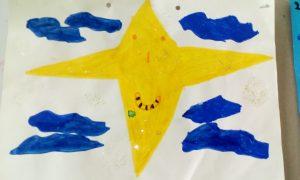Μοντέρνο οικογενειακό αστέρι που χρονολογείται