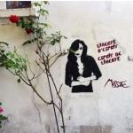 Miss.Tic, artiste de la rue