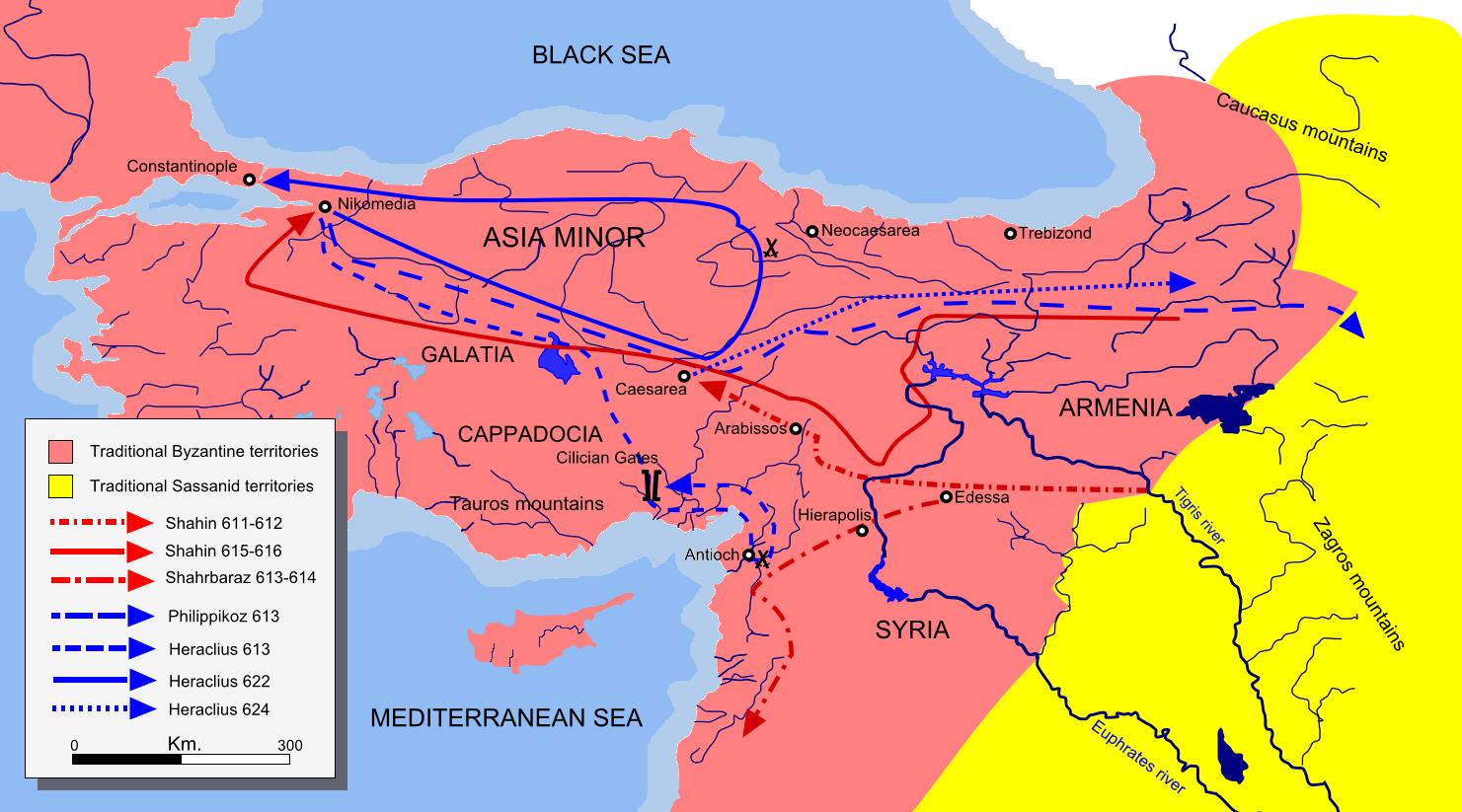 Byzantine-persian_campaigns_611-624-mohammad_adil_rais