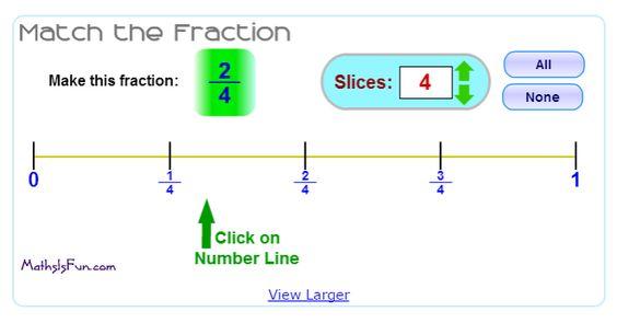 math is fun fraction 2