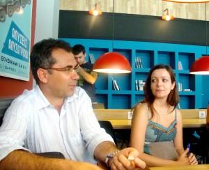 Ο Σύμβουλος Α/θμιας κ. Θεόδωρος Μπάρης και η Δρ. Νατάσσα Διαμαντοπούλου