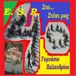 Λογότυπο της ομάδας του Ακούτε 4o ΓΥΜΝΑΣΙΟ ΧΑΛΑΝΔΡΙΟΥστο E. S. R.