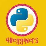 Λογότυπο της ομάδας του Python 4 Beginners