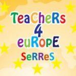 Λογότυπο της ομάδας του Teachers4Europe_Serres