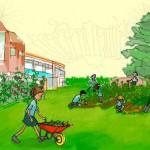 Λογότυπο της ομάδας του Σχολικοί Κηπουροί