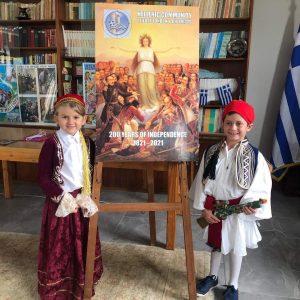 Εορτασμοί 200 ετών απο την Ελληνική Επανάσταση στο East London, Ν. Αφρικής