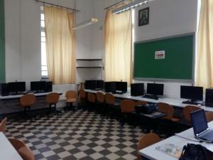 Το εργαστήριο της πληροφορικής