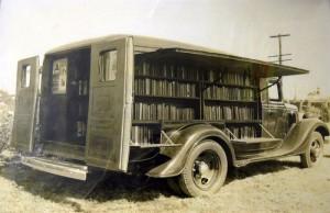 Όταν οι πρωτοποριακές βιβλιοθήκες του παρελθόντος είχαν ρόδες.