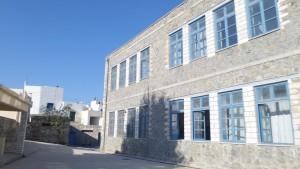 Η πίσω πλευρά του σχολείου μας!