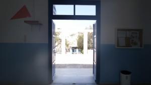 Η κεντρική είσοδος