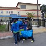 Ανακύκλωση από τους μαθητές του Β2