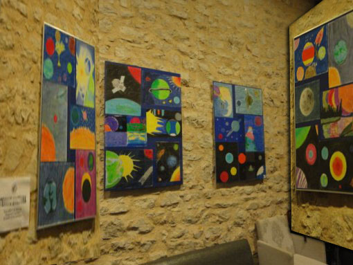 """""""Τέχνης διάστημα"""", έκθεση με εικαστικά μαθητικά έργα"""