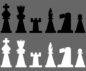 portablejim_2D_Chess_set_-_Pieces_1