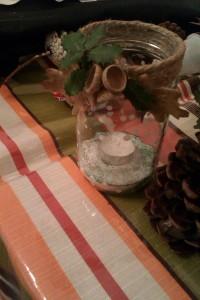 χριστουγεννιάτικο βαζάκι
