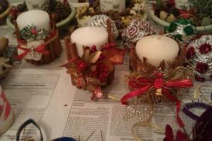 κεριά με κανέλα
