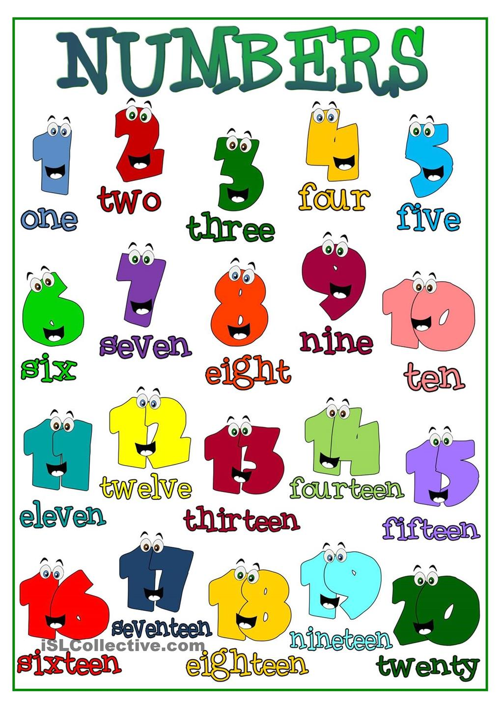 Numbers - Plurals | our english class