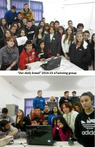 """Our daily bread"" 2014-15 eTwinning group"