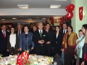 Με τον Κυβερνήτη της Isparta στην Τουρκία 2006