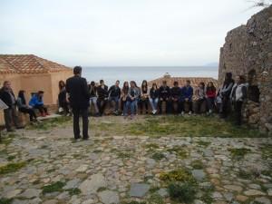 Η Ομάδα Περιβαλλοντικής Α Τάξης στη Μονεμβασιά