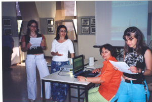 Παρουσίαση του Προγράμματός μας στο ΝΕΑΝΙΚΟ ΦΟΡΟΥΜ Caretakers, Θεσσαλονίκη 2004