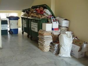 Ανακύκλωση στο Γυμνάσιο Αλιβερίου σε συνεργασία με την ΑΓΕΤ