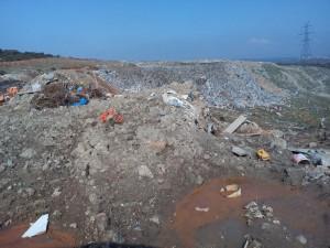 Επίσκεψη στη χωματερή Αλιβερίου