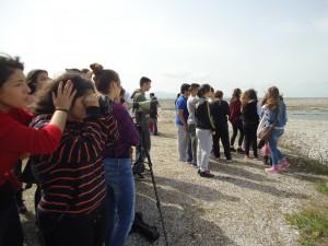 Παρατήρηση πουλιών στη λίμνη Κάρλα