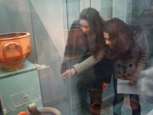 Στο Αρχαιολογικό Μουσείο Ερέτριας