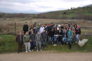 Επίσκεψη σε αρχαιότητες παραολύμπιων οικισμών -Αρχαιολογικός χώρος Πυθίου