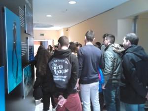 Β Τάξη στο Ίδρυμα Ευγενίδου - Ξενάγηση στην περιοδική έκθεση «Με μια ανάσα: Η Ελλάδα κάτω από την θάλασσα»
