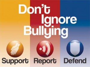 Don't Ignore Bullying