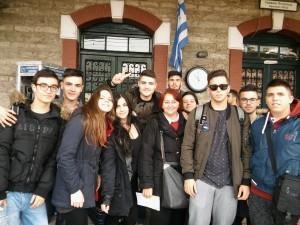 Στο Σιδηροδρομικό Σταθμό της Οινόης - Θεσσαλονίκη με τρένο