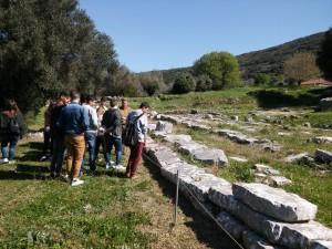 Στον Αρχαιολογικό χώρο Θέρμου