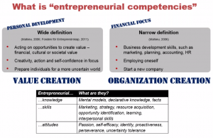 Entrepreneurial Competencies1