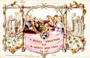 πρώτη χριστουγεννιατικη καρτα 1843