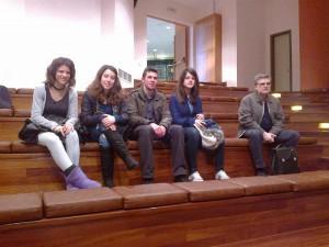 Η ομάδα μας μαζί με τον εκπαιδευτικό κ. Παρτσαδάκη Σπυρ.