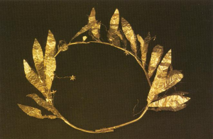 Χρυσό στεφάνι, 4ος αι. π.Χ.
