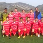Η ποδοσφαιρική ομάδα του σχολείου μας