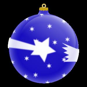 μπλε_χριστουγεννιάτικη_μπάλα