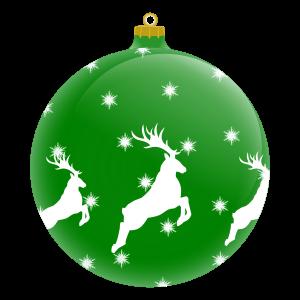 πράσινη_χριστουγεννιάτικη_μπάλα