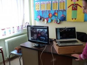 Οι φίλοι μας από τα Ιωάννινα στο skype.