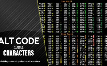 alt-codes