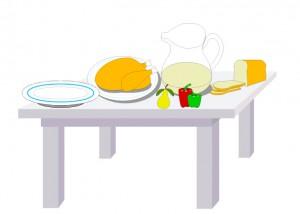στρώνουμε τραπέζι