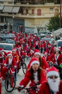 Santa Bike_ποδηλατοβόλτα 3