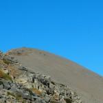 Η κορυφή από τον Αγκαθιά