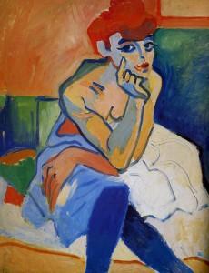 1906 André Derain La femme en chemise
