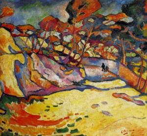 1906 Georges Braque, L'Estaque