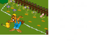 o κάστορας κηπουρός